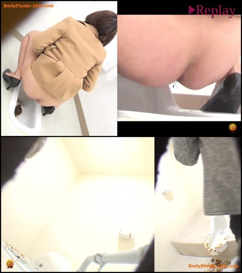 Spy camera in public toilet filming poop japanese women 2018 (BFEE-41) [FullHD/1920x1080]