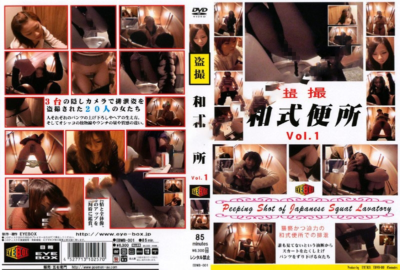 スクワットトイレ盗撮 Defecation of a Japanese Woman in the Toilet 2019 (EBWB-01) [SD/640x480]