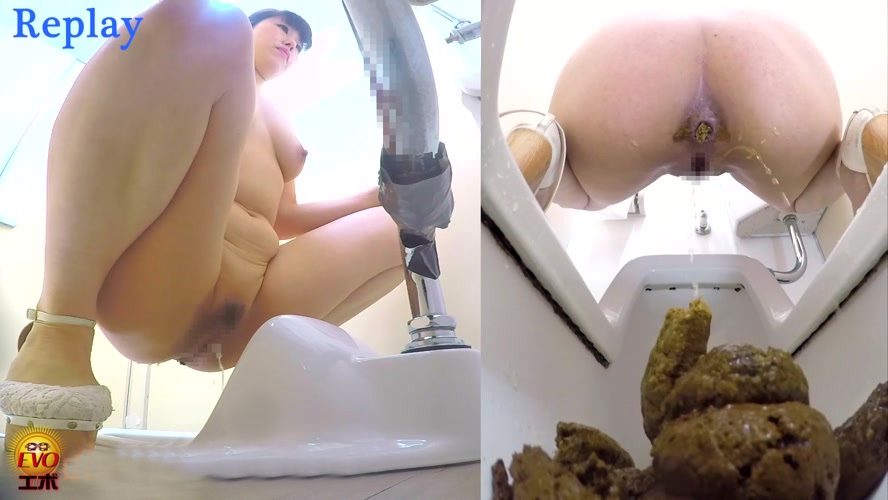 裸の女の子がトイレでたわごと Naked Woman Shits in Toilet Hidden Cam 2019 (BFEE-87) [FullHD/1920x1080]