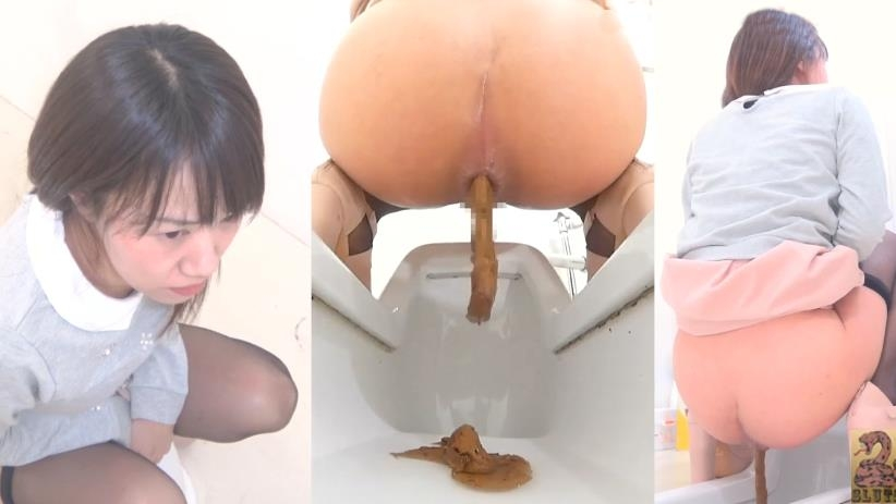黒タイツの美しい脚を持つ女性 Hidden Cam in Toilet Woman and Shit 2019 (BFSR-218) [FullHD/1920x1080]