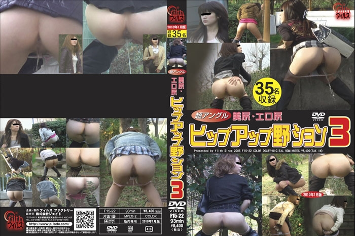 Super Angle Beauty Outdoor Peeing 極度の角度の美の屋外の小便 2020 (F15-22) [SD/640x480]