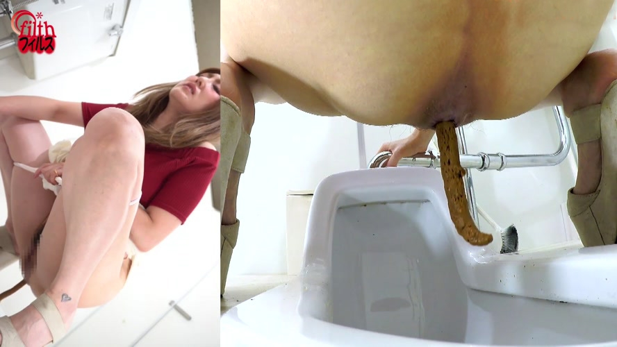 アマチュア糞トイレ排泄 Amateur Shitting Toilet Excretion 2020 (BFFF-343) [FullHD/1920x1080]