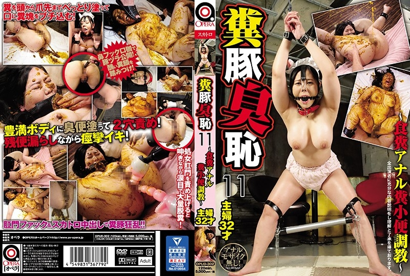 Pig Smell Shame ~ Anal Feces, Piss Excavation 豚臭羞恥~アナル糞、小便発掘調査~ 2020 (OPUD-302) [SD/720x404]
